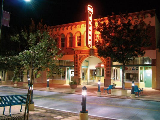 """Courtesy Photo   This year marks the 10th anniversary of the historic 89-year-old theater's reincarnation and the Doña Ana Arts Council is pulling out all the stops to celebrate with a three day-long birthday bash, September 24-26, 2015. The three-day celebration theme is """"Rock'n and Roll'n for 10 Years!"""""""