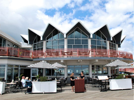 The new Robinson Ale House, formerly Asbury Grille, offers outdoor dining at 24 tables.