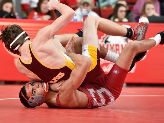 Smyrna Milford wrestling pic