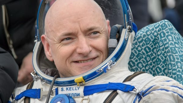 """Astronaut Scott Kelly will visit Vero Beach Nov. 1 to sign copies of his book """"ENDURANCE: A Year in Space, A Lifetime of Discovery,"""" and to discuss his space adventures and childhood."""