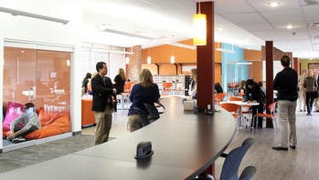 The iLab at Horace Greeley High School in Chappaqua