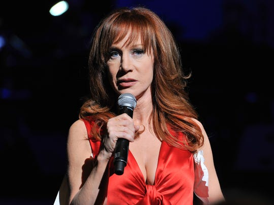 Kathy Griffin performs Match 10, 2014, at Davies Symphony Hall in San Francisco.