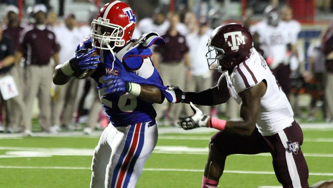 Louisiana Tech running back Kenneth Dixon will get plenty of attention from Louisiana-Lafayette on Saturday.