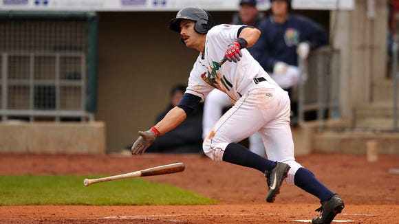 Jason Kanzler has come on strong with the Cedar Rapids Kernals, the high-level A team for the Minnesotta Twins.