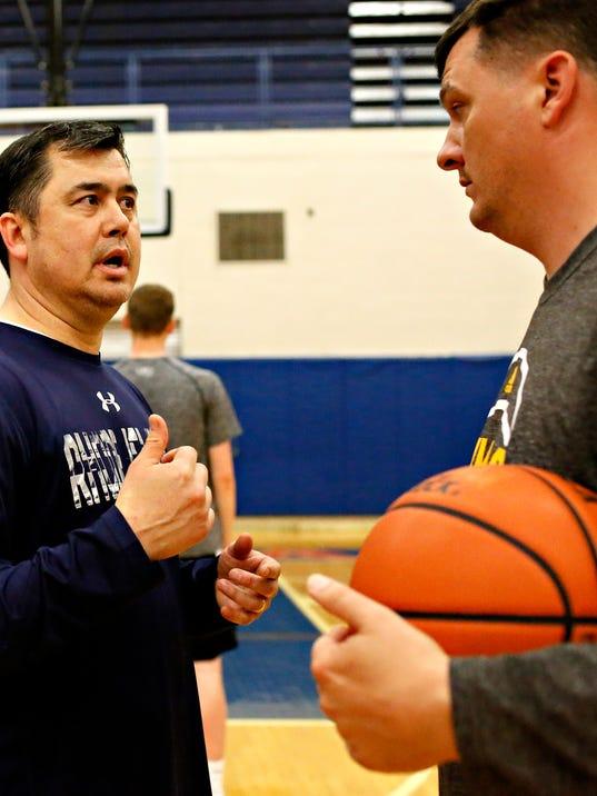 York Ballers AAU practice
