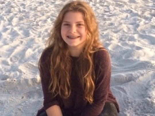 Casey Epstein-Gross i- she is an 8th grader at Fairview