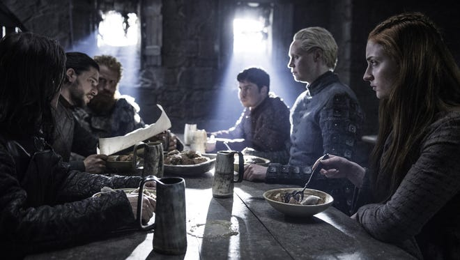 In Season 6, Episode 4, Jon Snow and Sansa Stark are reunited.