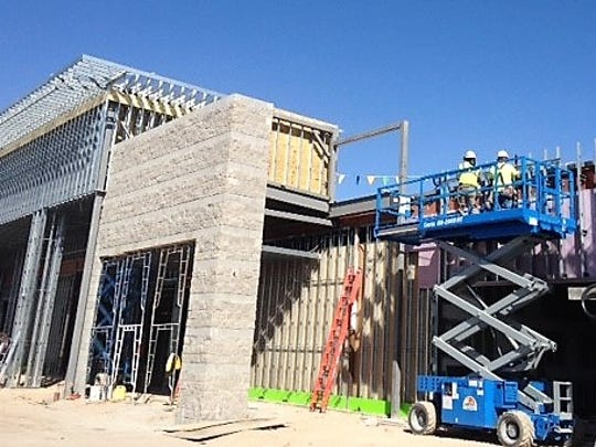 The third El Paso Sprouts Farmers Market store is under construction in the Eastgate Shopping Center in East El Paso.