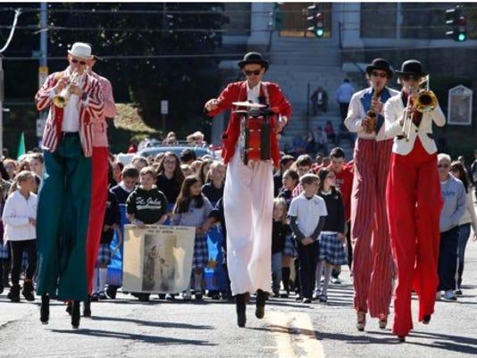 Columbus Day parade Yonkers