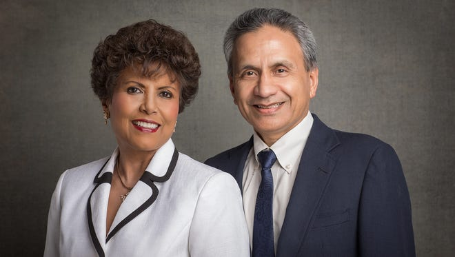 Rama and Ammu Devasthali will be honored by Gov. Susana Martinez at the 2016 annual Governor's Awards for Excellence in the Arts on Friday, Sept. 23, at a ceremony at the New Mexico Museum of Art in Santa Fe.