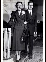 Hank Billings and Anne George were married in November
