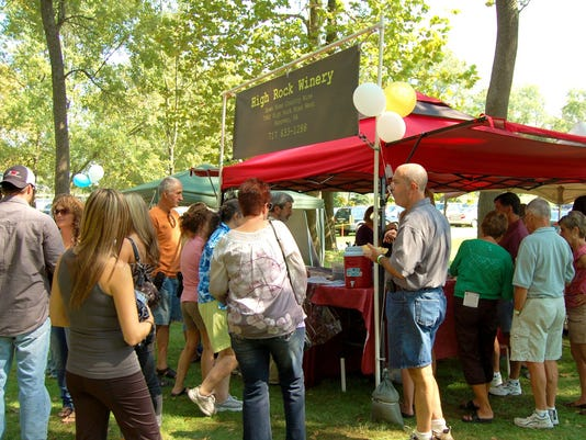 High Rock Winery of Spring Grove will offer samples at BARk's Wine Tasting in the Park Aug. 29.