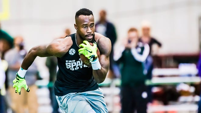 """Said Tony Lippett: """"I'd love to play wide receiver. But cornerback is a challenge I'd like to have, too. I'm not afraid of competition."""""""