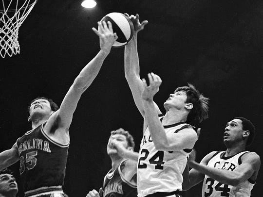 ABA Pacers photo by Jim Young The News. 3/25/1970 Pacers