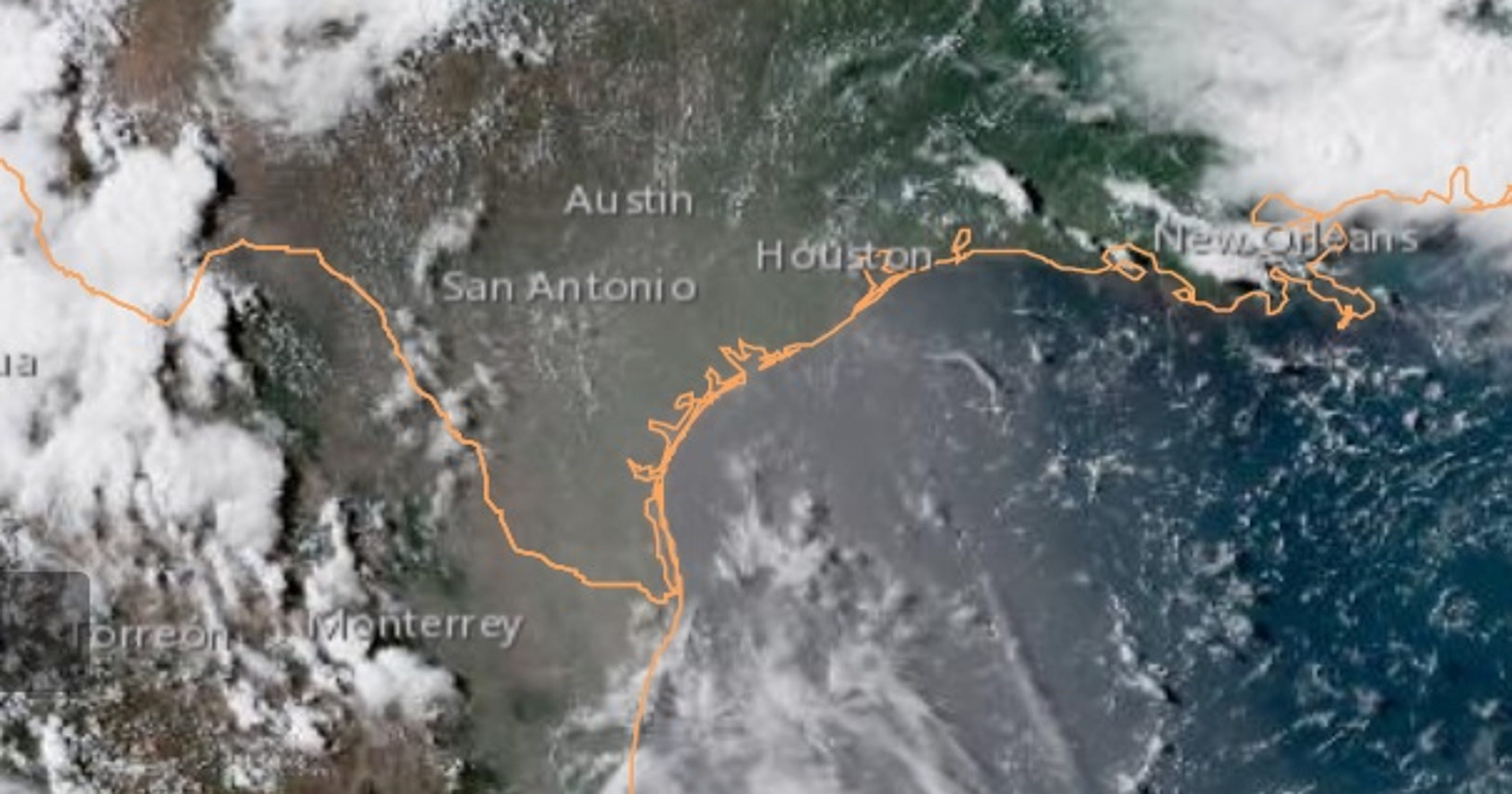 Sahara dust adding to heat misery in Texas this week