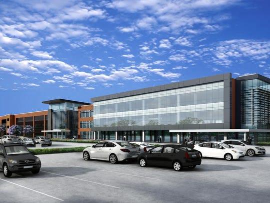 Toyota Supplier Center Rendering