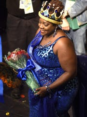 Thornetta Davis, Detroit's queen of the blues, receives