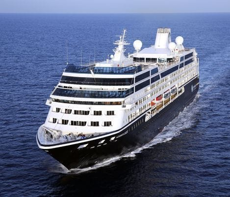 The 694-passenger Azamara Quest.