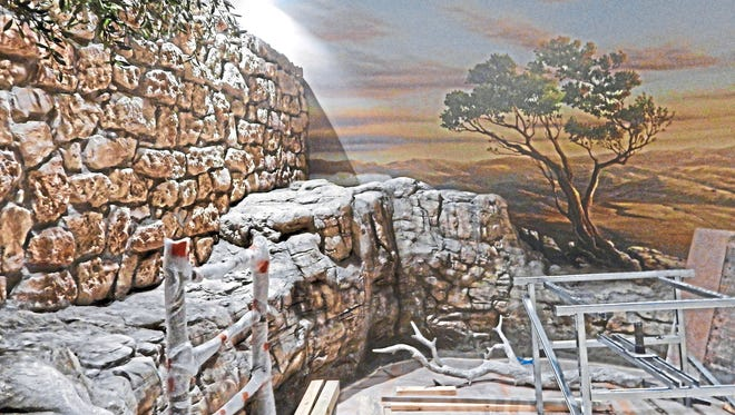On the Museum of the Bible's narrative floor, character actors in period costume will guide visitors through a life-size depiction of Nazareth in Biblical times.