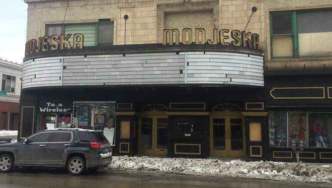 The long-vacant Modjeska Theatre, 1134 W. Historic Mitchell St., is seeking redevelopment proposals.