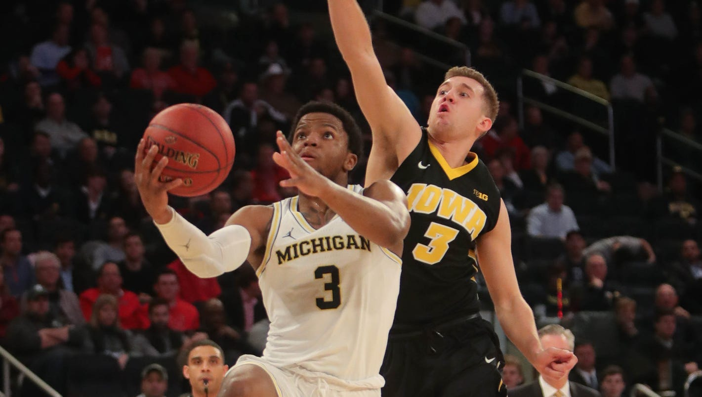 Michigan basketball survives Iowa in Big Ten tournament; Nebraska next