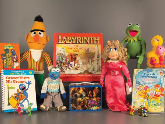 Bert, Kermit and Miss Piggy are among the newcomers