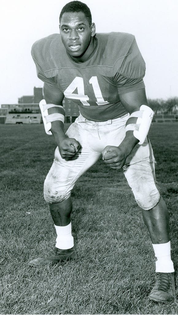 "Charles ""Mad Dog"" Thornhill was an instrumental force on the Spartans' great teams in 1965 and '66."
