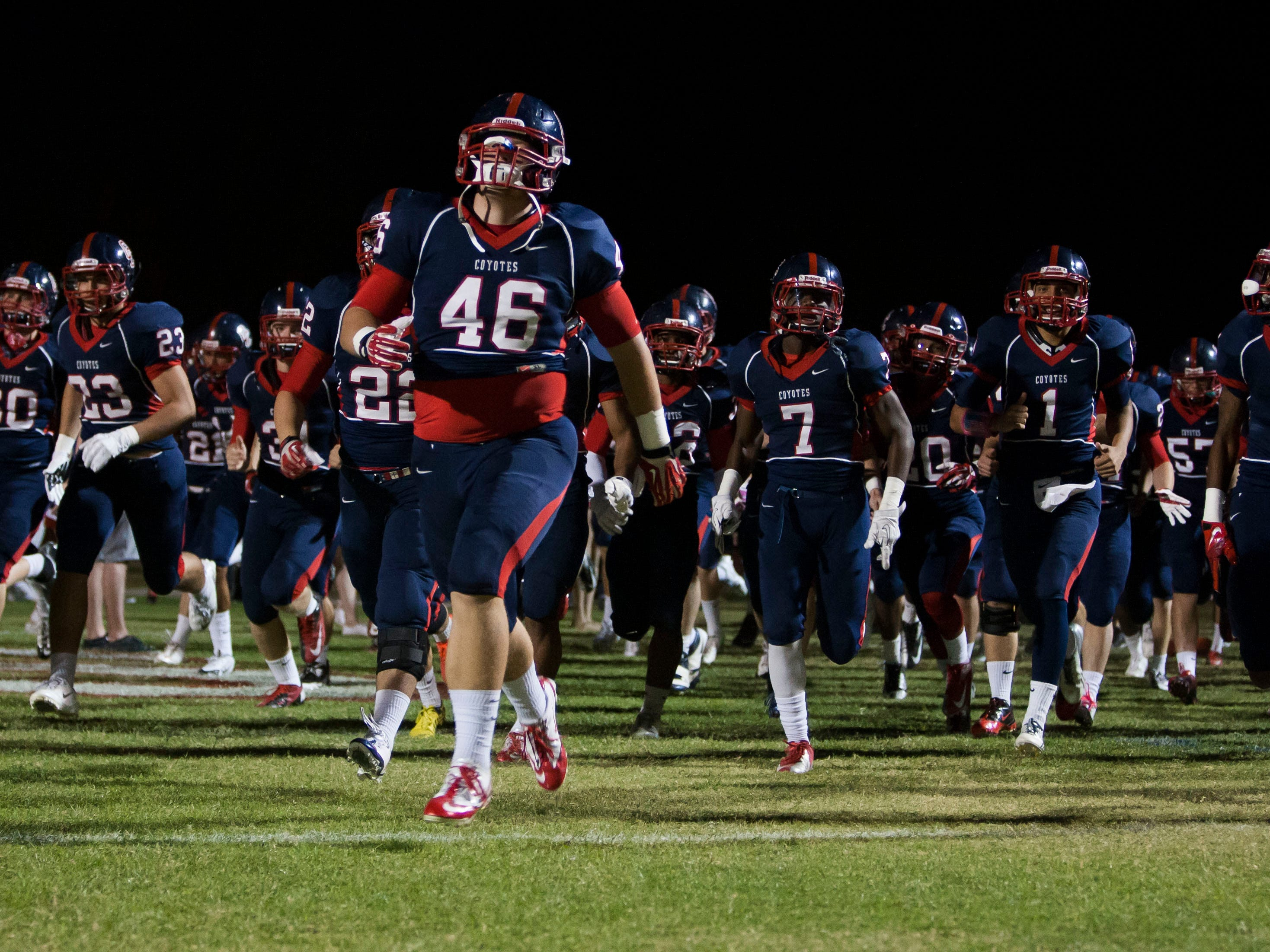 """Division II Centennial will field what coach Richard Taylor called the """"strongest physical team we've ever had."""""""