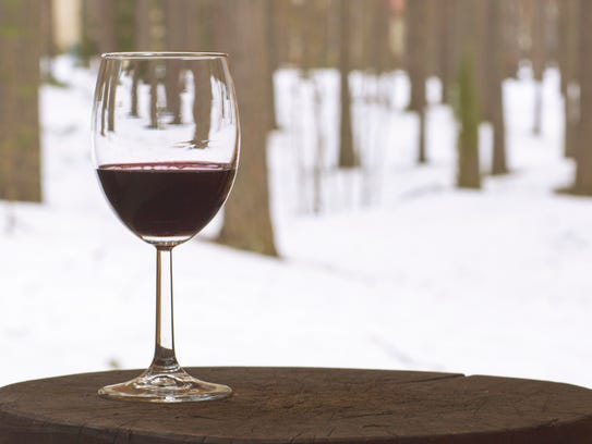 Enjoy a glass of wine after snowshoeing this weekend
