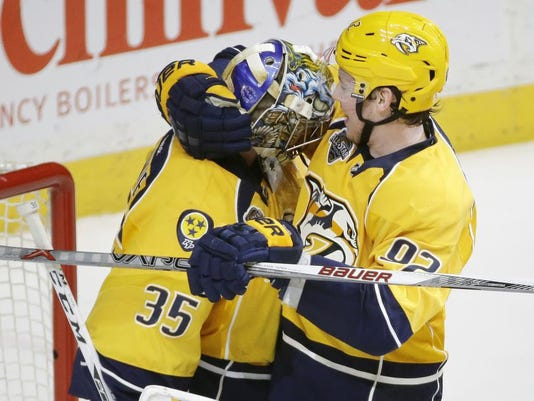 Pekka Rinne, Ryan Johansen