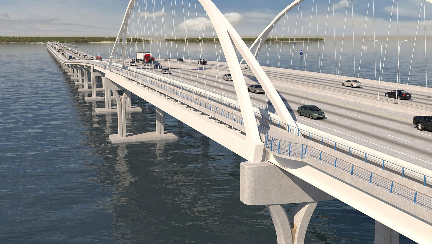 Pensacola Bay Bridge designers share updated plans with public
