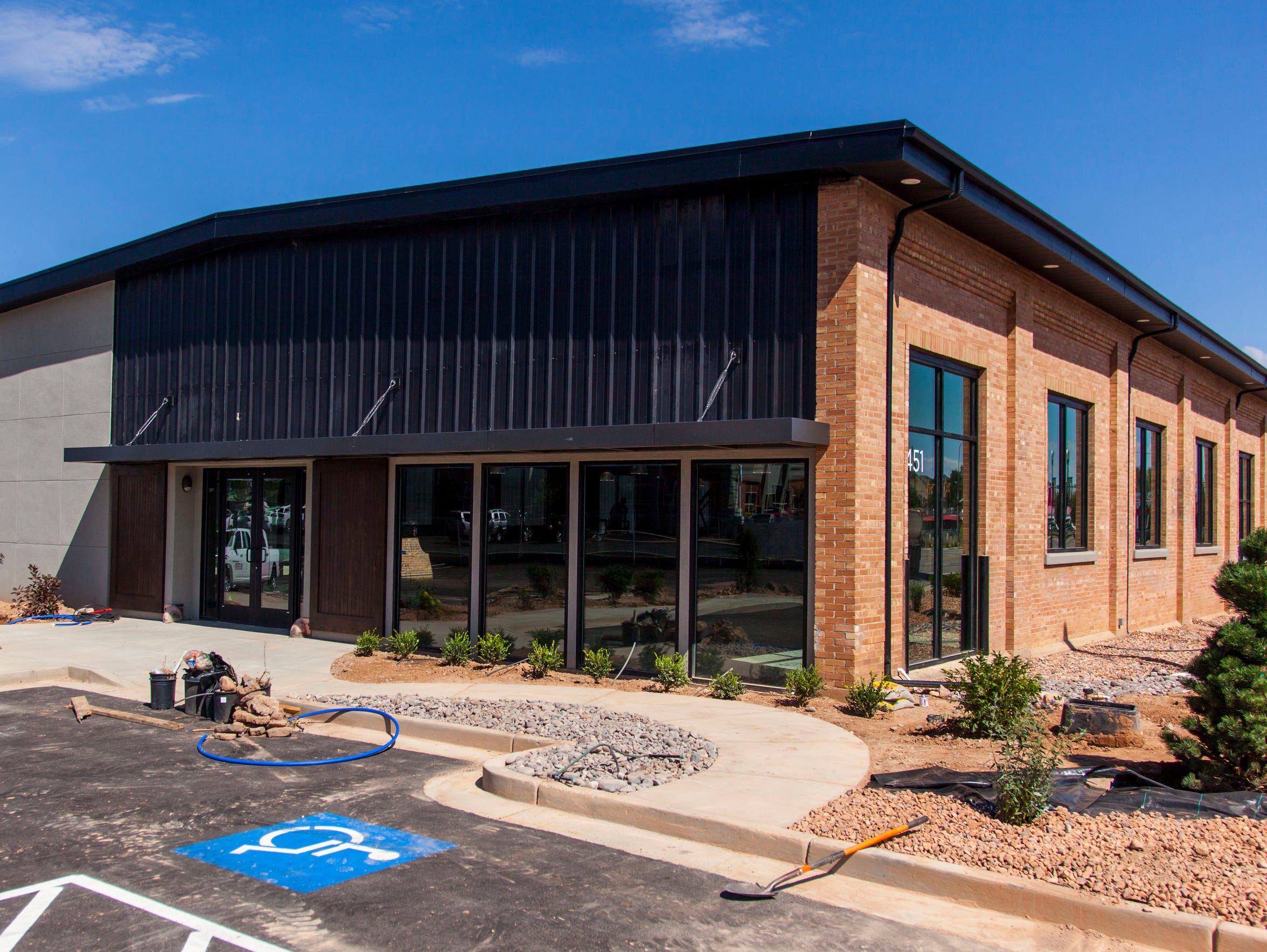 The new office building for Rainbow Sign & Banner and