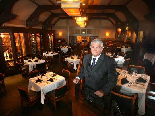Larry Griggers, owner of several Ruth's Chris Steak Houses in the Midwest, got to know Manning when he came in for a big juicy steak at his Northside location.