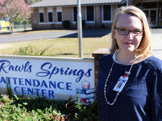 In her first year as principal at Rawls Springs Attendance