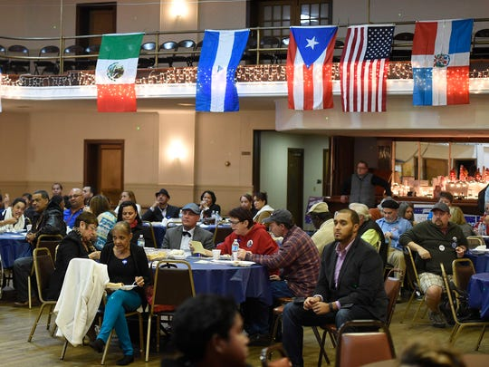 The Democratic Committee's Hispanic Initiative hosted a get out the vote rally Sunday evening at the Eagle Hall, located at 116 N. Eighth St. in Lebanon. Democratic candidates and guest speakers spoke to issues that concern the Hispanic community.