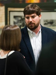 Clay McInnis is a finalist for Emerge Montgomery's