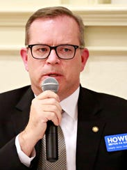 10th Congressional district candidate Alan Howe during