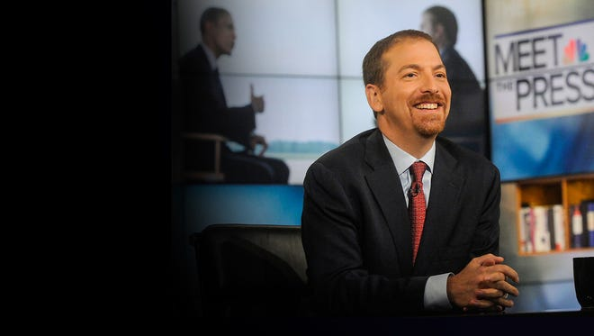 """NBC's """"Meet the Press"""" host Chuck Todd is launching a yearlong project covering five counties across the country until the 2020 general election, including Milwaukee County."""