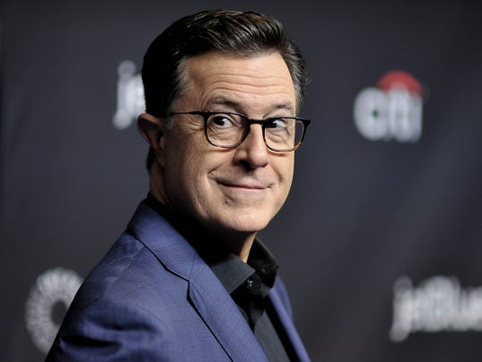 Stephen Colbert, a guest at the Montclair Film Festival