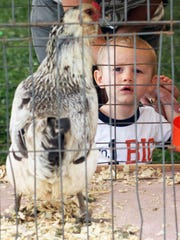 Opening day at the 2014 Somerset County 4-H fair being