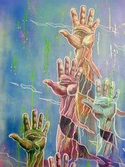 """""""Illuminant"""" is a featured artwork in J. Ben Moss art"""