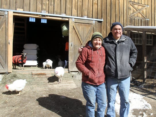 Bill and Ellen Crain, co-founders of Safe Haven Farm