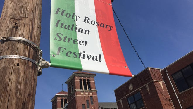 Hit the Italian Street Festival 5 to 11 p.m. June 12 and 13 at Holy Rosary Catholic church, 520 Stevens St.