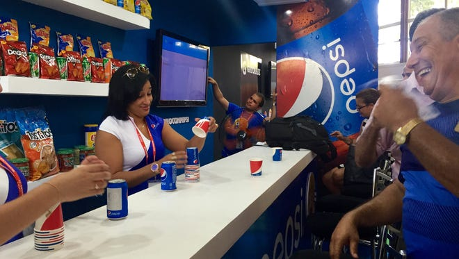 New York-based PepsiCo has been selling a limited number of food items to Cuba for years, but the company is attending the country's International Trade Fair in Havana this week in hopes of selling its drinks on the island.