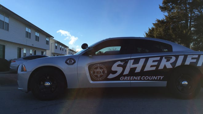 The Greene County Sheriff's Office says a man was arrested Wednesday night after a high-speed chase.