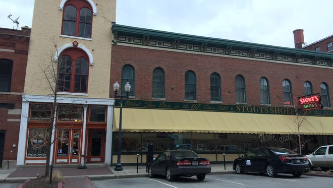 The exterior of the three-story, 2,400-square-foot building at 314 Mass Ave. will soon house a new lounge from the owners of Wild Beaver Saloon.