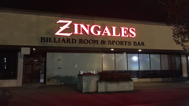 The new Zingale's billiards room and sports bar will be in the space that was formerly Gold's Gym on Apalachee Parkway