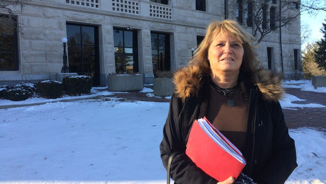Tracy Garrett is one of the 32 people who have successfully completed Wayne County's drug diversion program since it began in June 2016.