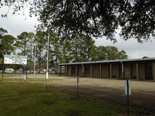 Katharine Drexel Elementary School in Broussard.