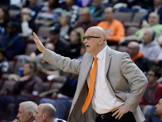 Northeastern head coach Jon Eyster will guide his Bobcats into a PIAA Class 5-A second-round game at 7:30 p.m. Tuesday against Penncrest at Garden Spot High School. YORK DISPATCH FILE PHOTO
